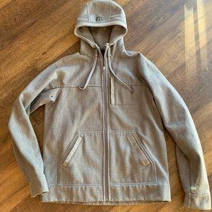 Lululemon Full Zip Active Fleece Lined Hoodie